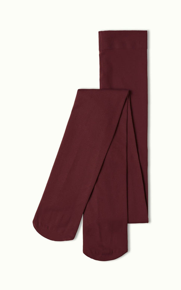 King Louie - Tights Solid Porto Red / Bordeaux Panty's Kousen