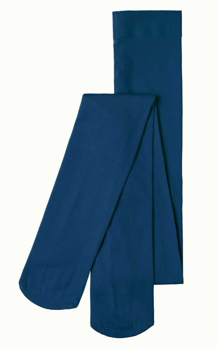 King Louie - Tights Solid Autumn Blue / Blauwe Panty's Kousen