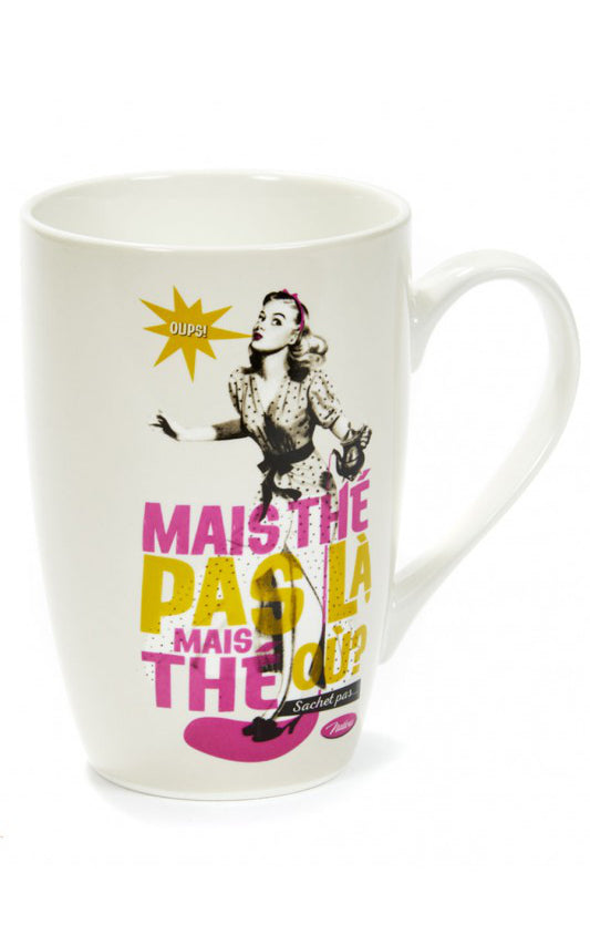 Natives - Mug Thé Pas Là? I Retro Koffietas