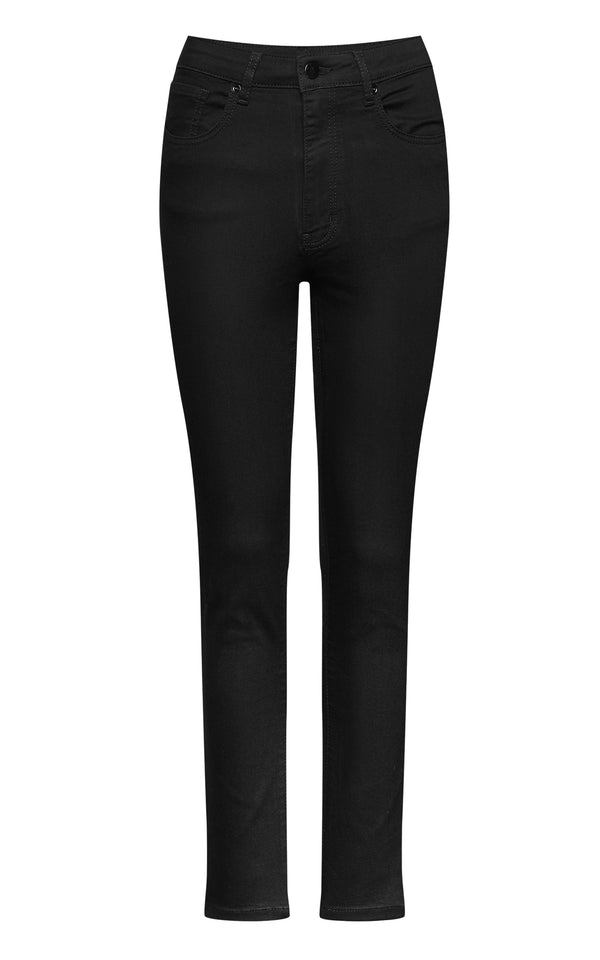 Mademoiselle YéYé - Back In Black Trousers Denim Black