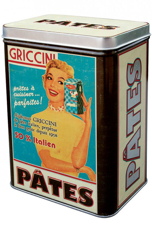 Natives Déco - Storage Tins Housewives / Retro Opbergdozen of Blikken 50s Style