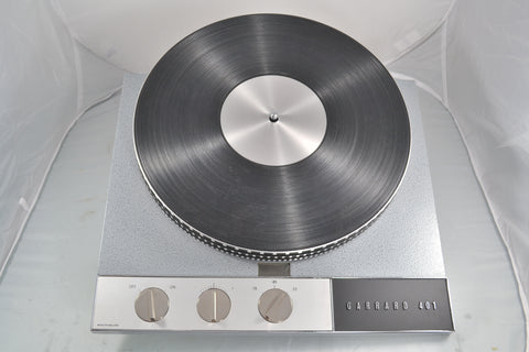 Hammertone Garrard 401 Turntable Rebuilt by CTC