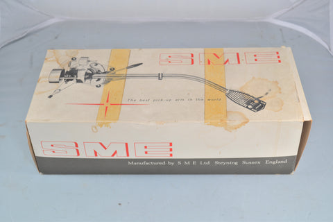 1975 SME 3009 Series II Improved Fixed Headshell Tonearm NOS