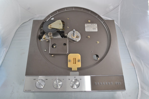 Garrard 401 Tunrntable Flush Strobe EXCELLENT