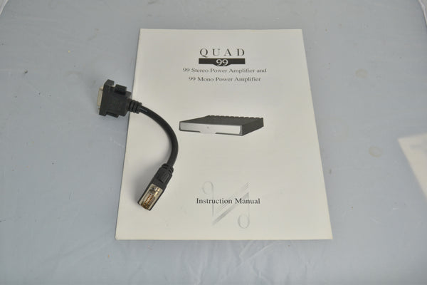 Quad 99 Power Amplifier ORIGINAL BOXED