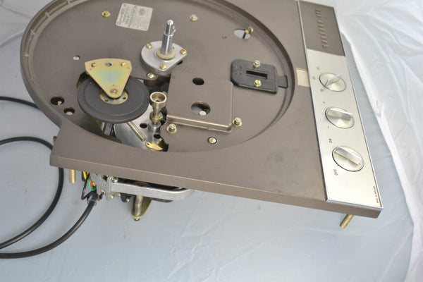 Garrard 401 Turntable, Flush Strobe, Loricraft Serviced