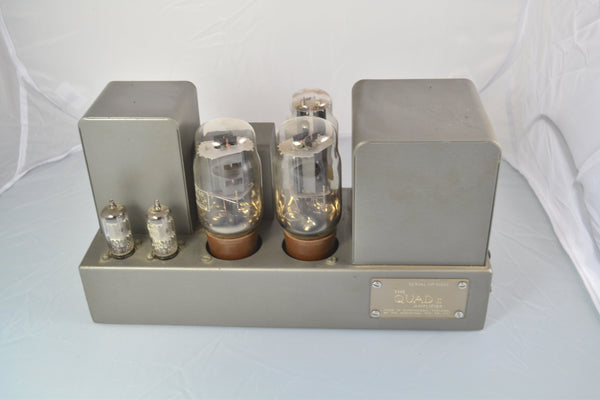 Quad II Power Amplifiers and Quad 22 Pre Amplifier