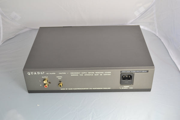 Quad CD67 CD Player