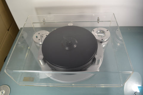 Silver Michell Orbe Turntable