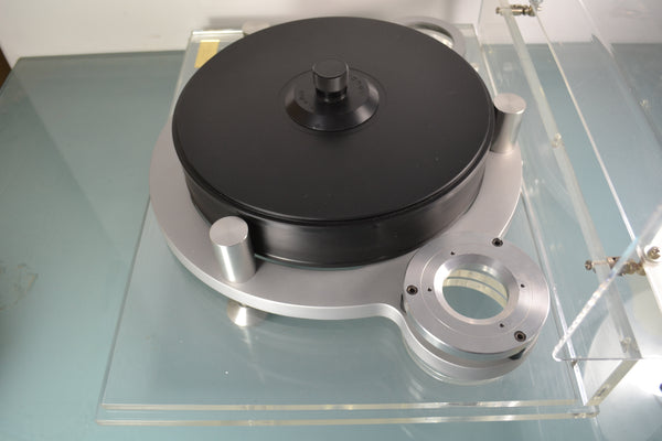 "Silver Michell Orbe Turntable ""Full Orbe"""