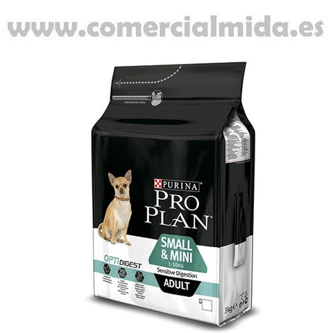 Pienso PURINA PRO PLAN SMALL&MINI SENSITIVE DIGESTION para perros adultos