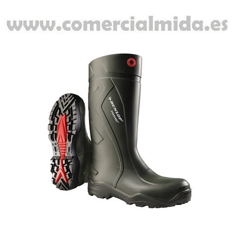 Bota DUNLOP PUROFORT + FULL SAFETY