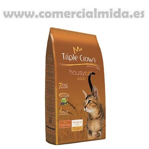 Pienso TRIPLE CROWN HOUSY CAT para gatos