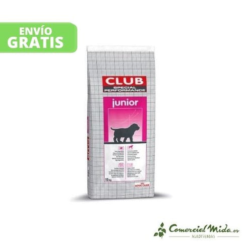 Pienso ROYAL CANIN CLUB PERFORMANCE JUNIOR para cachorros (Hasta 24 meses)
