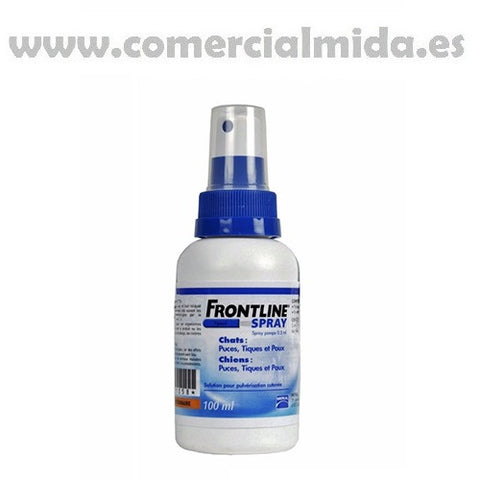 Spray FRONTLINE 100ml perros y gatos anti pulgas, garrapatas y piojos