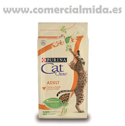 Pienso PURINA CAT CHOW POLLO & PAVO para gatos
