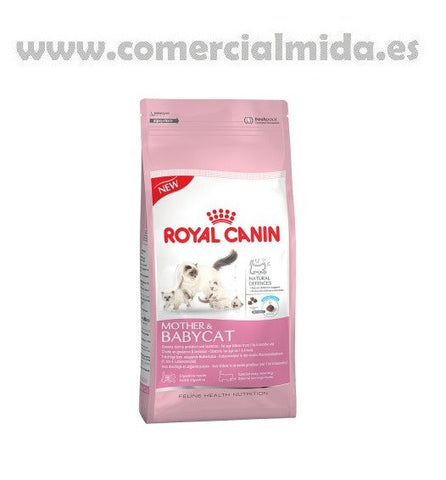 Pienso ROYAL CANIN MOTHER & BABYCAT gatitos de corta edad y hembras lactantes