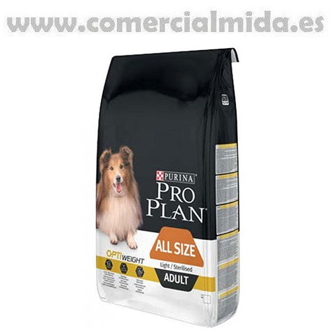 Pienso PURINA PRO PLAN OPTIWEIGHT LIGHT / STERILISED para perros con sobrepeso