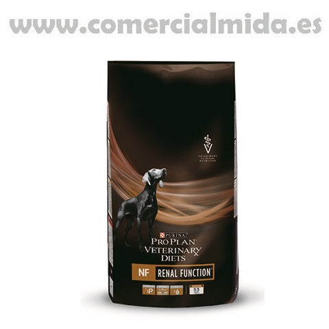Pienso PURINA PRO PLAN VETERINARY DIETS CANINE NF para perros con insuficiencia renal