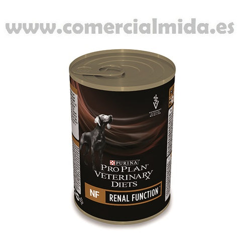 Mousse PURINA PRO PLAN VETERINARY DIETS CANINE NF 400g para perros con insuficiencia renal