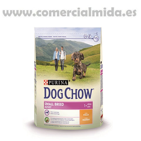 Pienso PURINA DOG CHOW SMALL ADULT 2,5Kg para perros raza pequeña