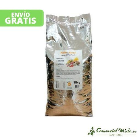 Forzecan Natural Food Pollo y Arroz 18 kg