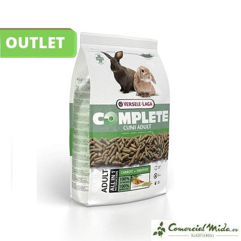 [OUTLET] Cuni Commplete Versele Laga Pienso Para Conejo Adulto 1.75 Kg