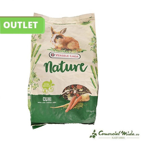 [OUTLET] Versele Laga Pienso Para Conejos Cuni Nature 2.3 Kg