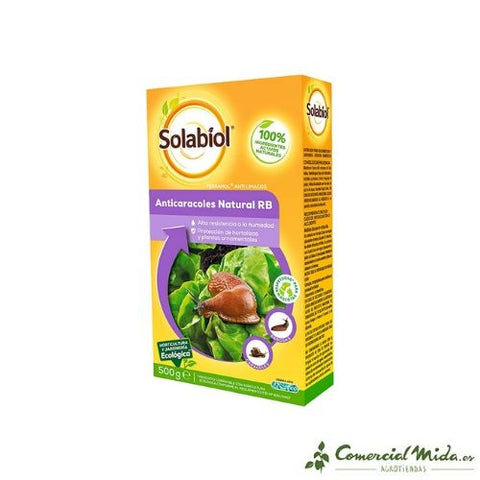 Anticaracoles Natural RB Solabiol 500 gr