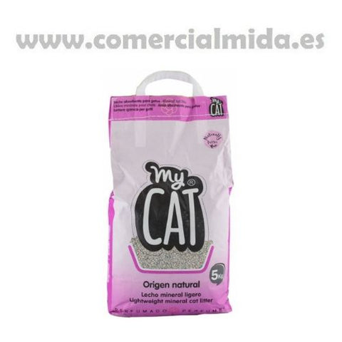 Arena Absorbente Gatos My Cat 5 kg
