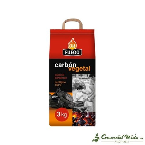 Carbón Vegetal Okfuego Flower
