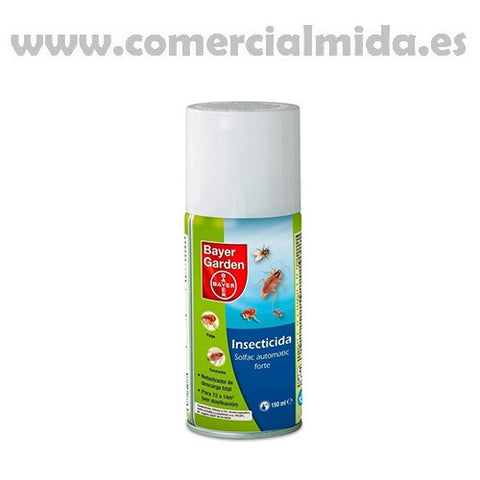 Insecticida SOLFAC AUTOMATIC FORTE DESCARGA TOTAL 150ml