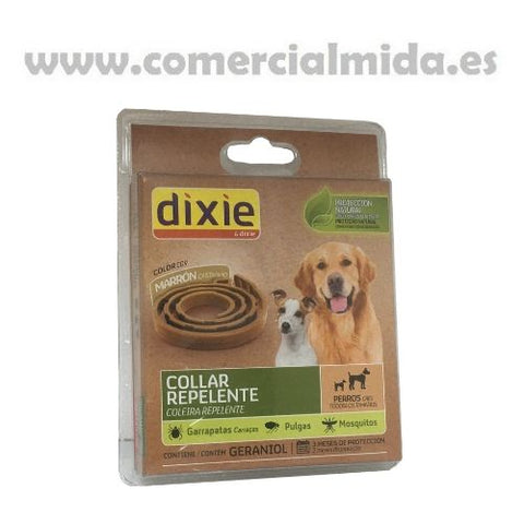 Collar Repelente Marrón Dixie