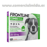 Frontline Combo Spot On Perros Grandes 3 Pipetas