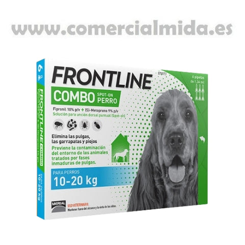 Frontline Combo Spot On Perros Medianos 6 Pipetas