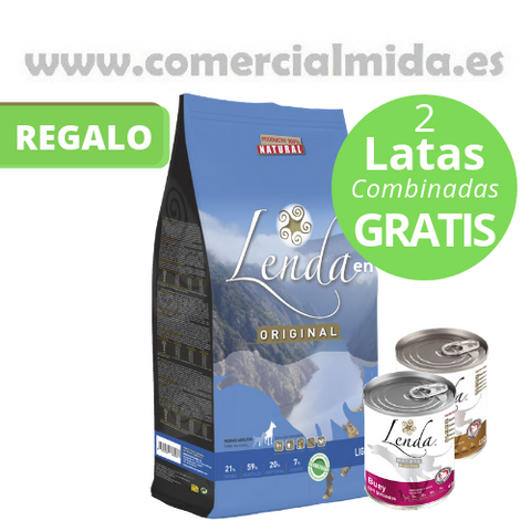 Lenda Original Adult Light Latas Gratis