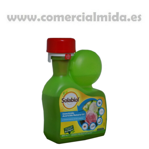NATRIA SOLABIOL insecticida acaricida natural Bayer 250ml