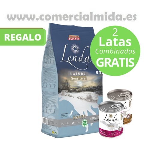 Lenda Nature Sensitive Latas Gratis