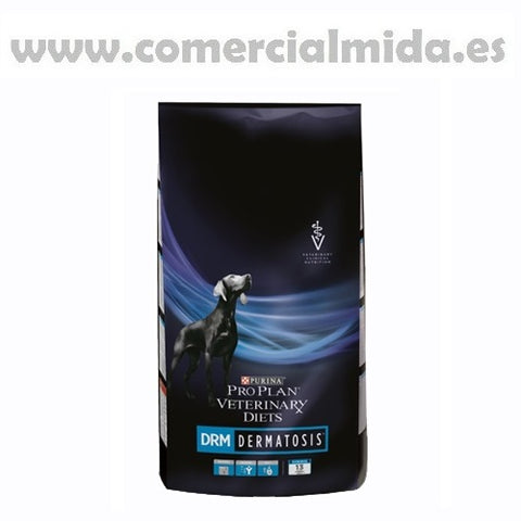 Pienso PURINA PRO PLAN VETERINARY DIETS CANINE DRM para perros con dermatosis
