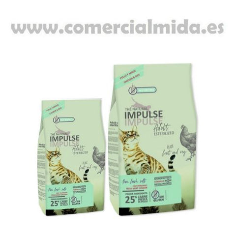 Natural Impulse Cat Sterilized