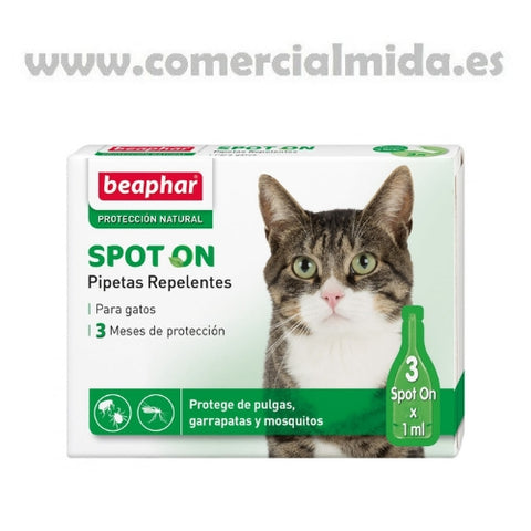 Beaphar Spot On Pipetas Repelentes Gatos