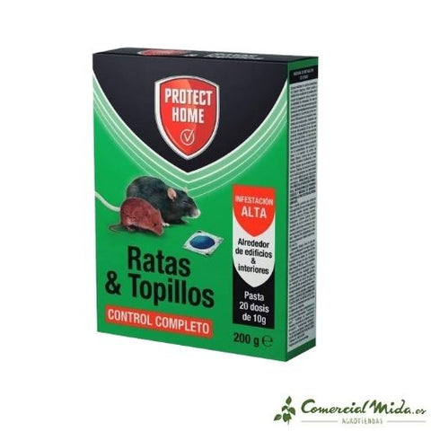 Protect Home Ratas y Topillos CM27 200g