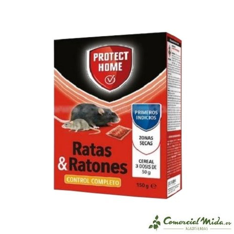 Raticida Cereal Rodicum BD de Protect Home 150 gr