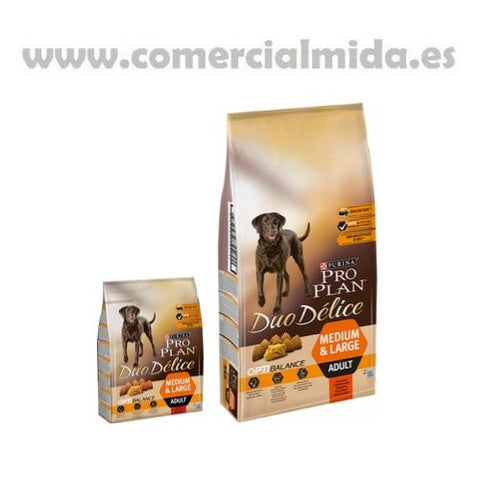 Purina Pro Plan Duo Delice Medium Buey
