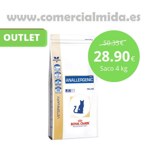Pienso para gatos Royal Canin Anallergenic 4 kg OUTLET