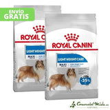 ROYAL CANIN MAXI LIGHT WEIGHT CARE pack de 2 unidades