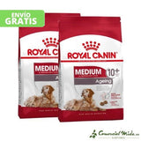 ROYAL CANIN MEDIUM AGEING 10+ pack de 2 unidades