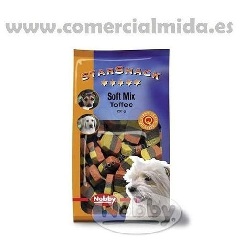 Snack para perros NOBBY Soft Mixt Toffee 200g