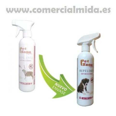 Spray PET SANA ANTI ORINES 500 ml para perros y gatos