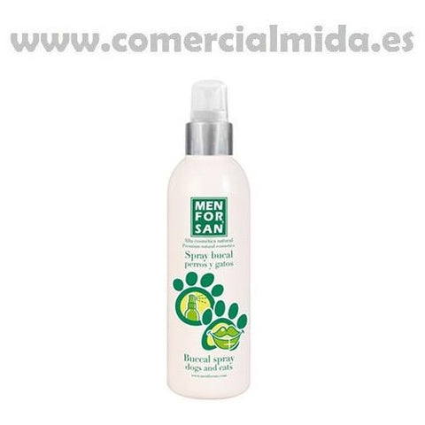 Spray bucal MENFORSAN 125ml contra el mal aliento para perros y gatos